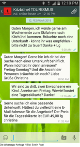 Abbilding - Whats App Kitzbühl