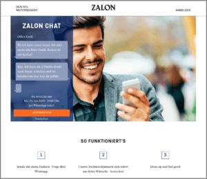 Abbilding - Whats App Zalando