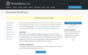Abbildung - Download WordPress