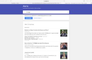 Abbildung - Google Alerts