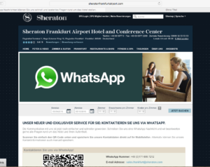 Abbildung - Whats App Sheraton