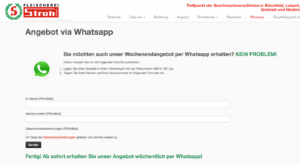Abbildung - Whats App Stroh