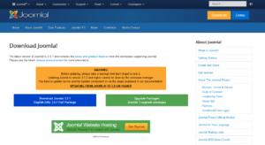 Abbildung 1 - Download Joomla