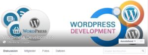 Abbildung WordPress Development