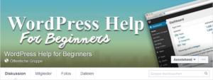WordPress Help for beginners