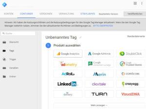 Abbildung 2 - Google-Tag-Manager-Tag-erstellen