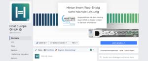 Abbildung - FB-Unternehmensseite - Host Europe