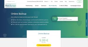 Abbildung - Online Backup