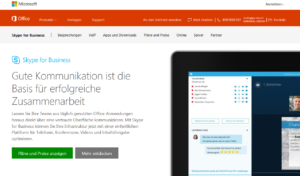 Abbildung - Skype for Business