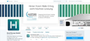 Abbildung - Twitter Host Europe