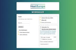 Abbildung - WebMailer-Login