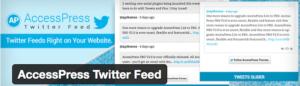 Abbildung - AccessPress Twitter Feed