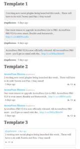 Abbildung - AccessPress Twitter Feed_2