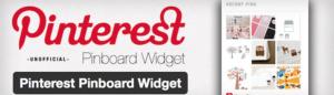 Abbildung - Pinterest Pinboard Widget