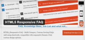 Abbildung - HTML Responsive FAQ Plug-In