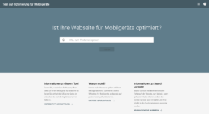 Abbildung - Mobile Friendly Check