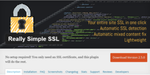 Abbildung - Really Simple SSL