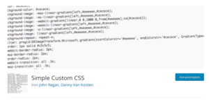 Abbildung - Simple Custom CSS - Kopie