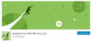 Abbildung - WordPress Plug-In Jetpack