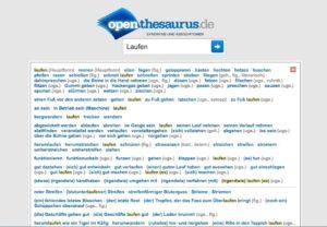 Abbildung - Open Thesaurus