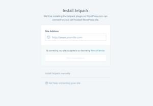 Abbildung Install Jetpack