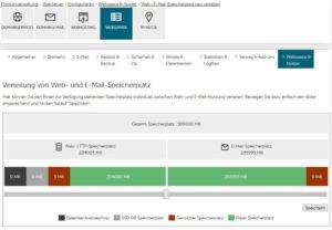 Abbildung - Web-Speicherplatz_zuweisen - neu_mehr_E-Mail-Speicherplatz