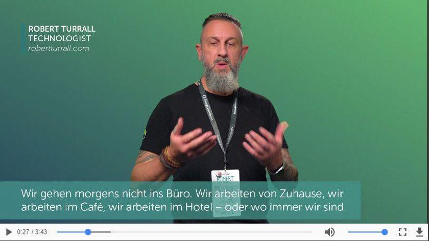 Teaser - Microsite digitalesarbeiten.de