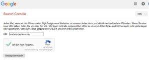 Abbildung 2 - google-webseite-eintragen