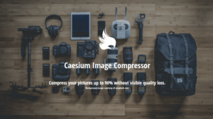 Abbildung - Caesium-tool-bildkomprimierung