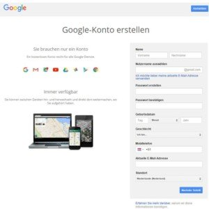 Abbildung - google-konto-erstellen