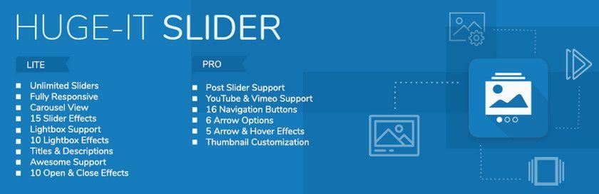 Die fünf besten kostenlosen Plugins für WordPress-Slider