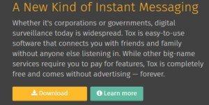Tox bietet verschlüsselte Kommunikation