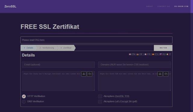 Wie Sie ein Let\'s Encrypt Zertifikat erstellen | Host Europe Blog