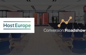 Abbildung - Host Europe war Gold-Sponsor der Conversion-Roadshow 2018