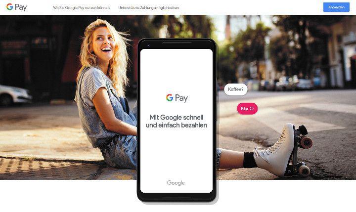 Abbildung - Google Pay - Motiv fuer den Downloadbereich