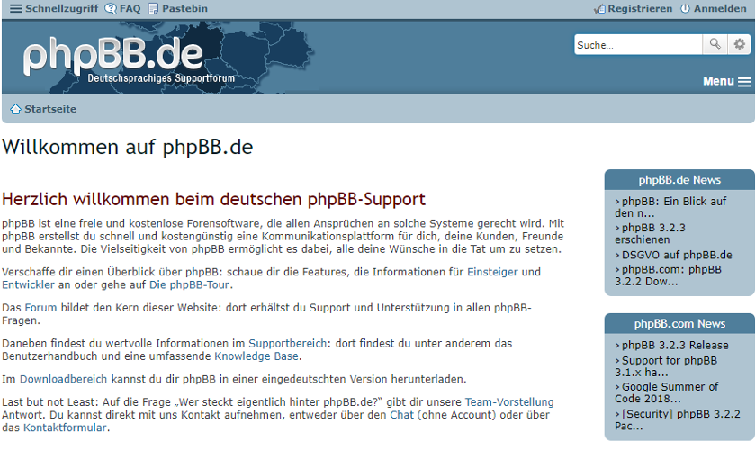 abbildung - phpbb - screenshot