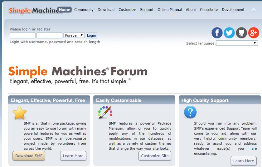 abbildung - simple-maschines-forum - open-source-software - screenshot