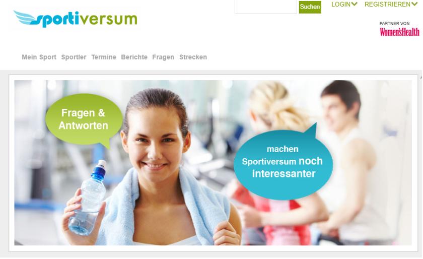 abbildung - sportiversum - screenshot