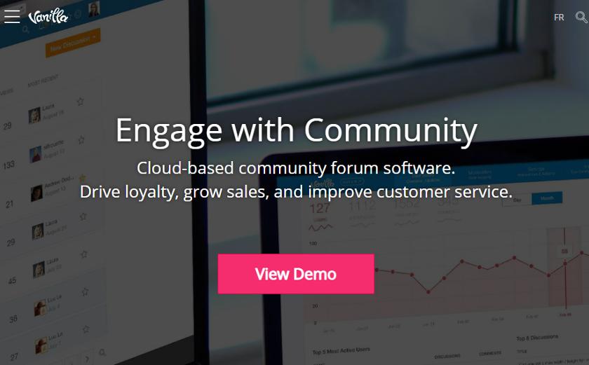 abbildung - software vanilla-forum - screenshot