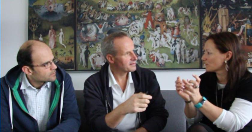 Abbildung-03-Wolf-Dieter Fiege-im-Interview-mit-ID4me-Katja-Speck-und-Marcos Sanz