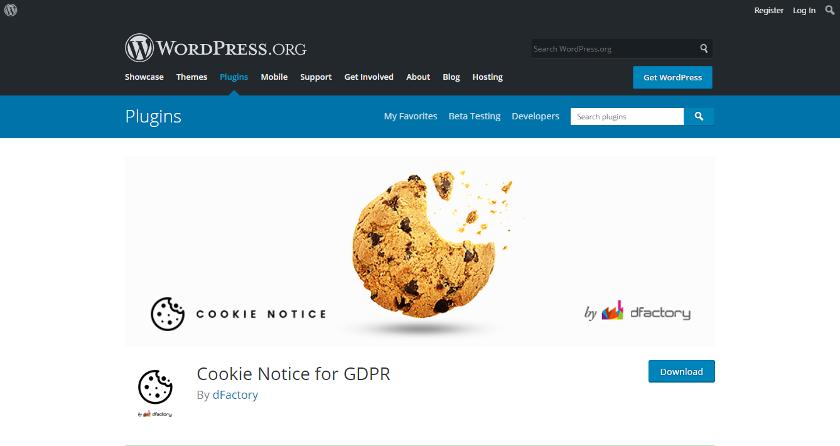Abbildung: Cookie Notice erfüllt alle Anforderungen zur Umsetzung der ePrivacy-Verordnung