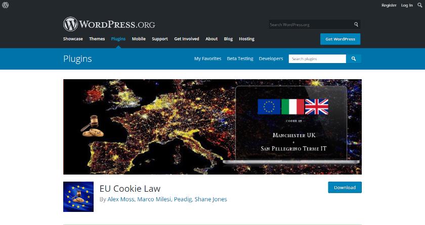 Abbildung: Das EU Cookie Law Plugin für WordPress bietet viele praktische Konfigurationsmöglichkeiten