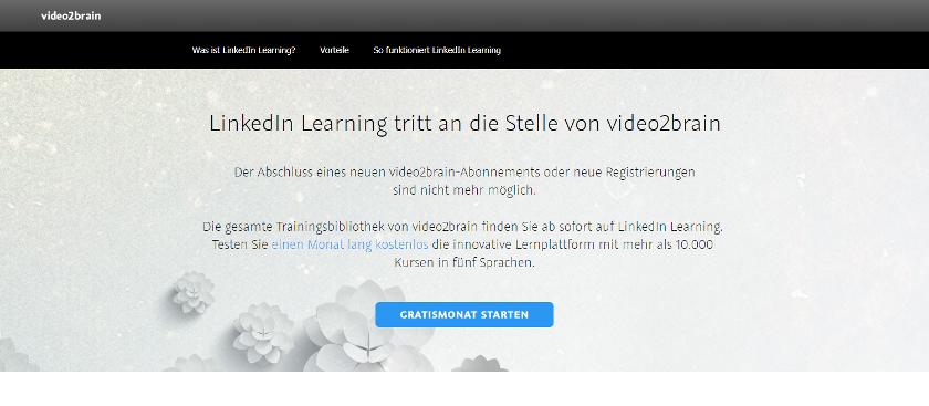 Abbildung: Auf Video2Brain finden Sie Java-Tutorials in deutscher Sprache und vieles mehr