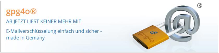 Abbildung 1: Gpg4o zur E-Mail-Verschlüsselung ist ein Add-in für Microsoft Outlook 2010 bis 2016 – Made in Germany