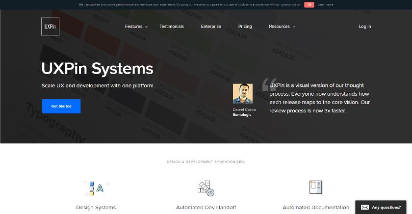 Abbildung - • Mit UXPin können Sie selbst ein Design-System erstellen