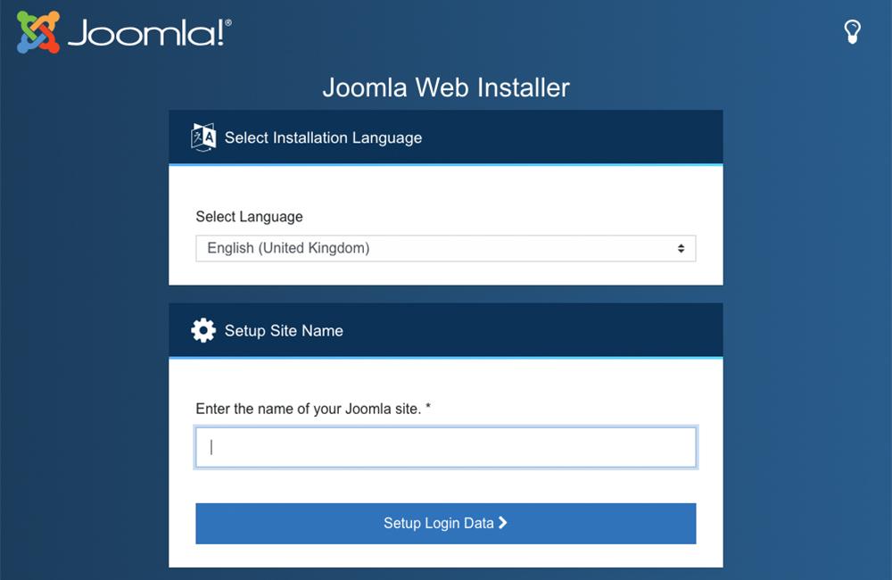 Abbildung - Der neue Joomla 4 Installer
