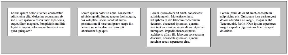 Abbildung - Layout mit CSS Float