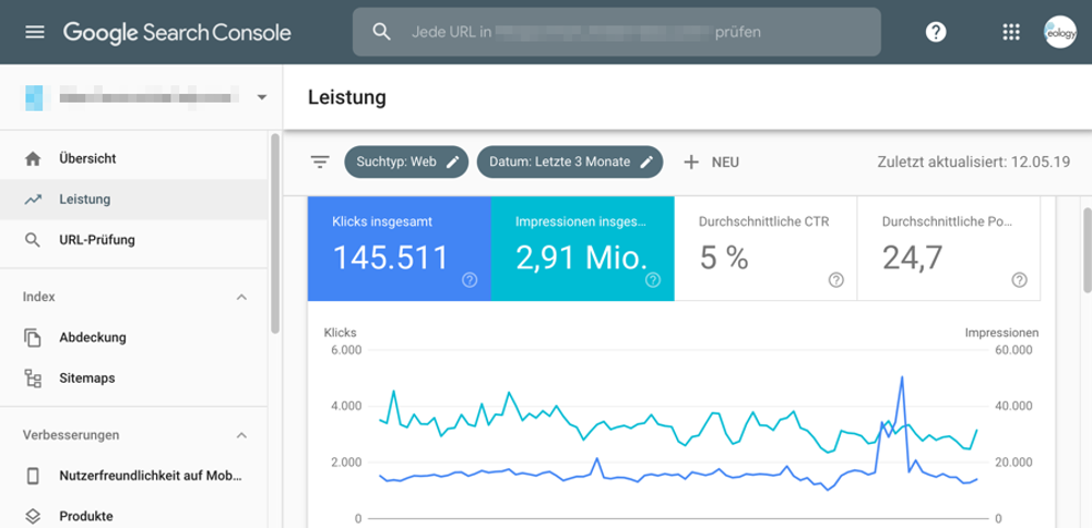 Abbildung - SEO-Audit - Die Google Search Console