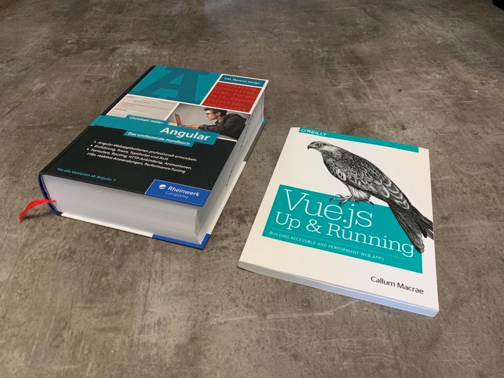 Abbildung - Workbooks zu Angular und Vue.js Up&Running