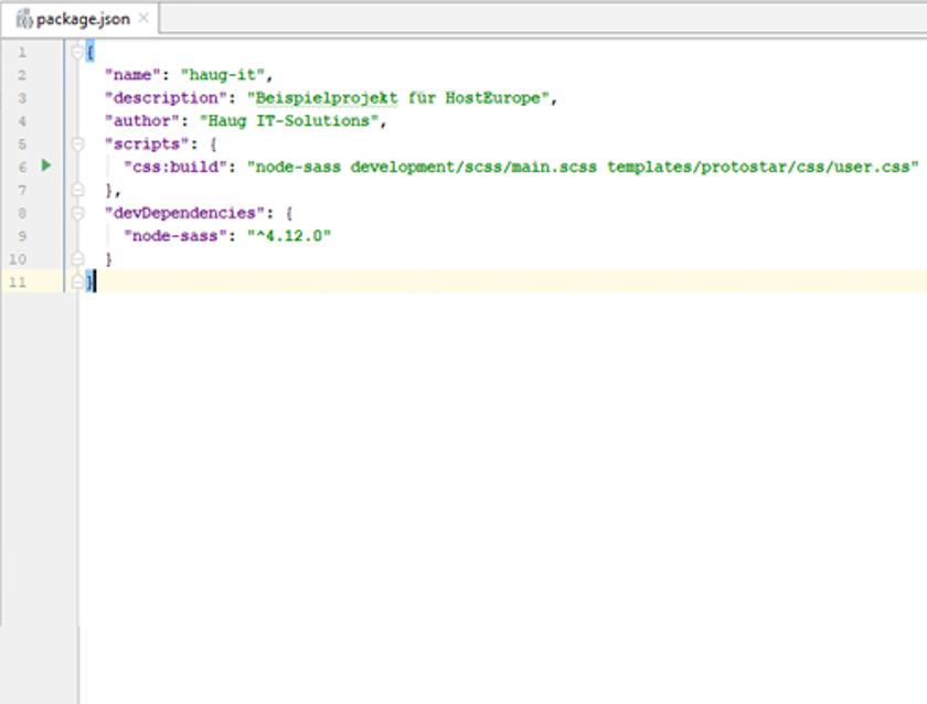 Abbildung 31 - NPM_ScriptNodeSass